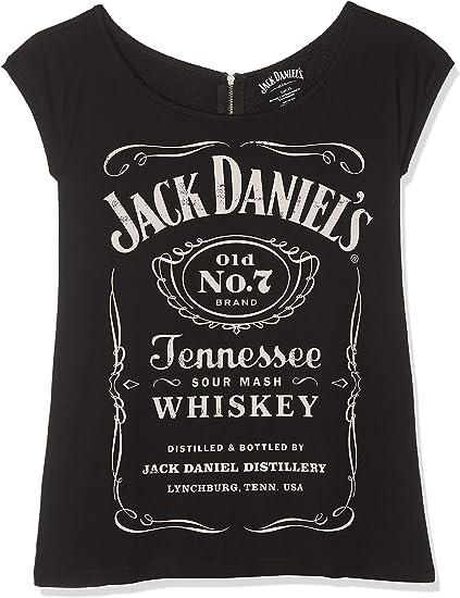 jack daniels t shirt damen
