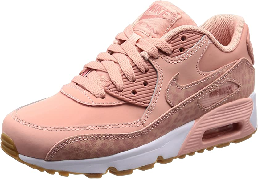 new concept 1fa52 bf9e0 Amazon.com | Nike Air Max 90 Leather SE (Kids) | Sneakers