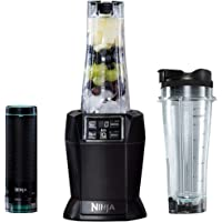 Ninja Nutri 1000W Personal Blender [BL580UKV] with FreshVac Technology, Black