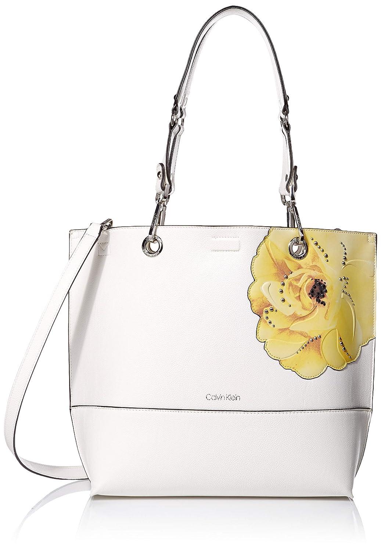 Calvin Klein レディース B07KRNRZW7 Floral White One Size