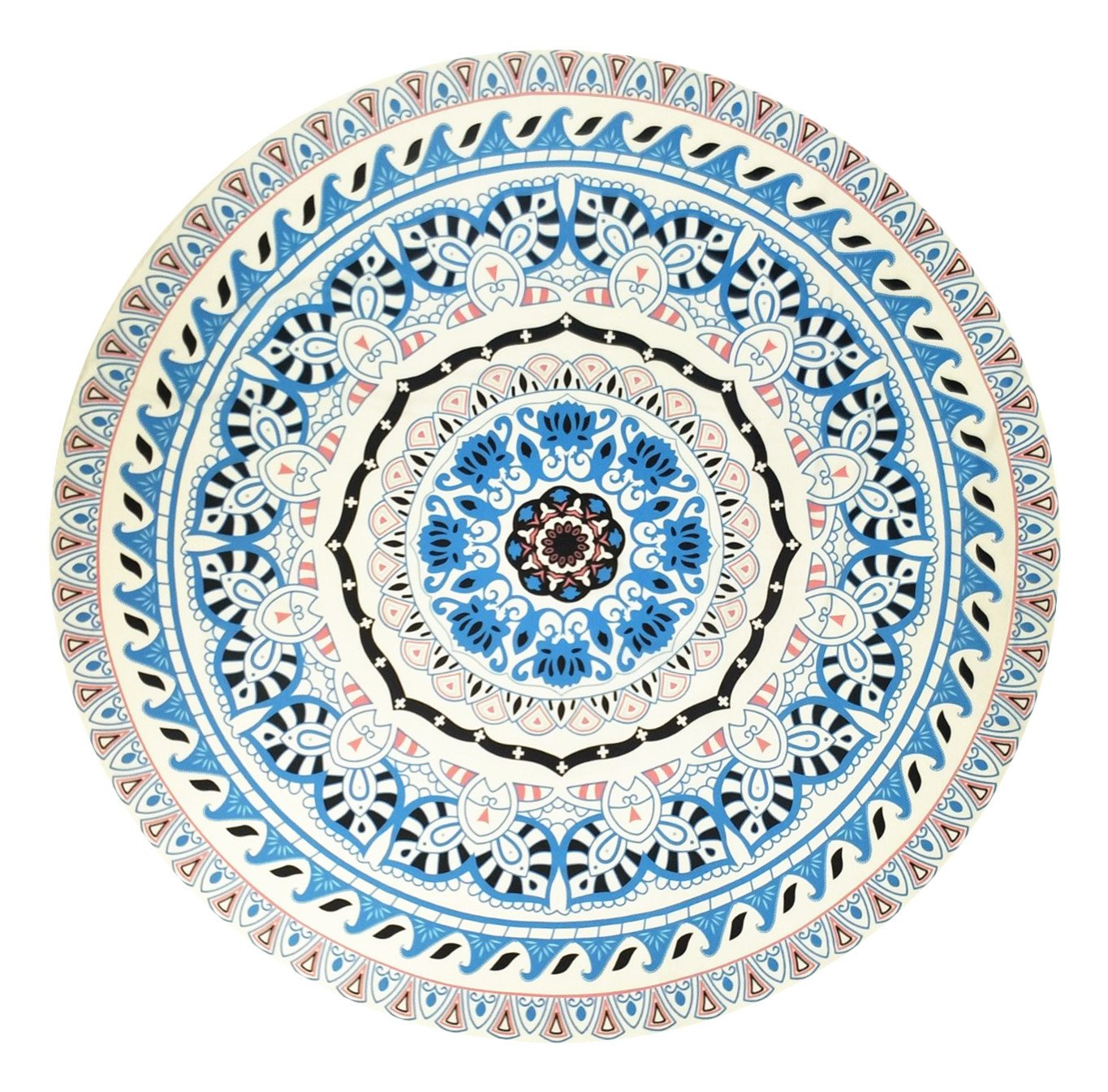 Amazon.com: Indian Mandala Microfiber Large Round Beach Blanket with Tassels Ultra Soft Super Water Absorbent Multi-Purpose Towel: Home & Kitchen