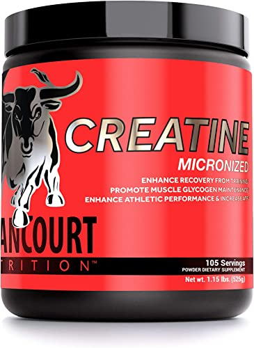 Betancourt Nutrition Micronized Creatine, 525 Grams Powder 105 Servings