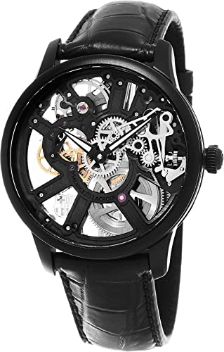 mauricelac Masterpiece Squelette FC Barcelona Hombre Esqueleto Dial Swiss mecánico watchmp7228-pvb01 - 002 - 1: Maurice Lacroix: Amazon.es: Relojes