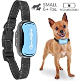 Small Dog Bark Collar For Tiny To Medium Dogs by GoodBoy Rechargeable And Waterproof Vibrating Anti Bark Training Device That Is Smallest & Most Safe On Amazon - No Shock No Spiky Prongs! ( 6+ lbs )