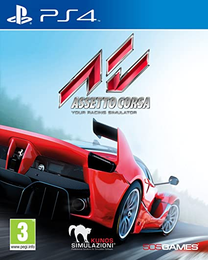 Digital Bros Assetto Corsa Ps4 Basico Playstation 4 Ita Video