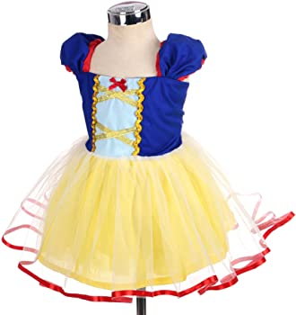 50c70951016 Amazon.com  Dressy Daisy Baby Girls Princess Snow White Dress ...