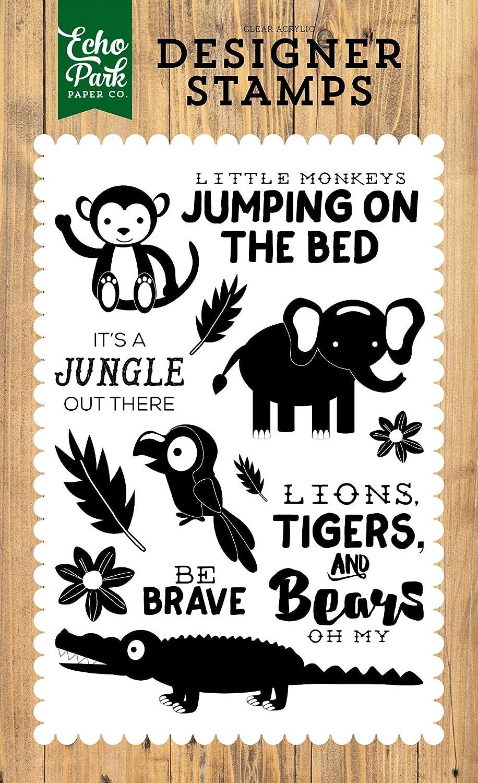 Echo Park Paper Company JS117043 Its a Jungle Stamp
