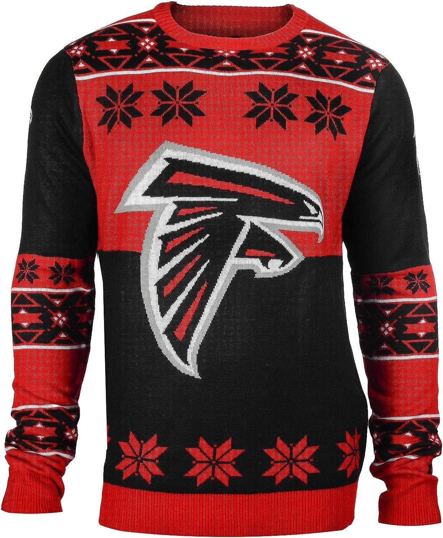 Klew Ugly Sweater Atlanta Falcons, Medium