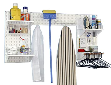 Wall Control 10 LDX 300WW Deluxe Laundry Room Organizer