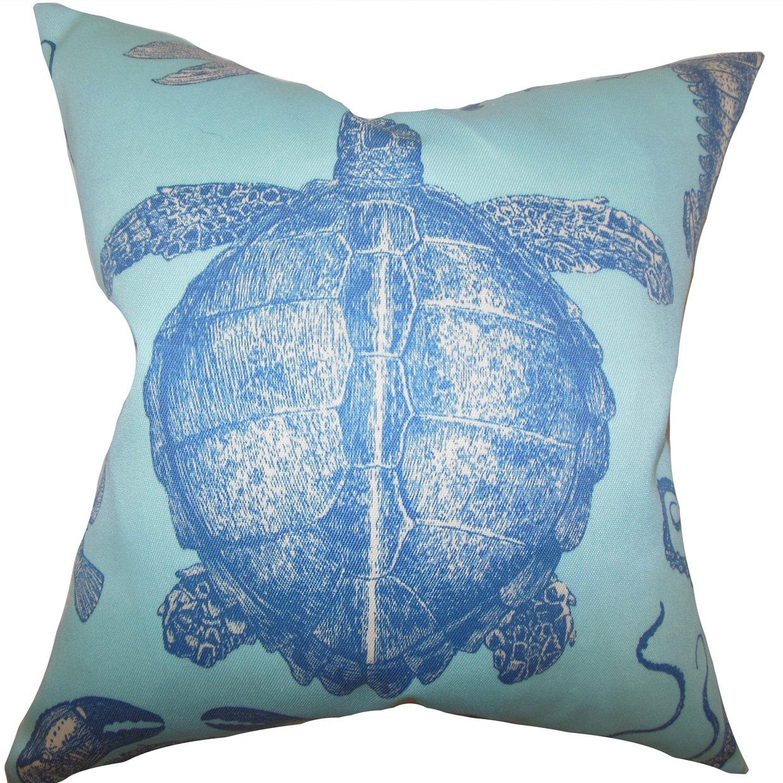 The枕コレクションp20-d-adriatic-skyblue-a100 Aeliena Coastal枕、スカイブルー、20