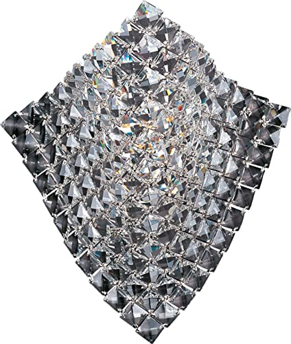 ET2 E24270-20PC Waves Crystal Pocket Wall Sconce