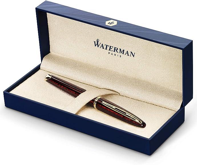 法国产 Waterman 威迪文 Carène 海韵 琥珀纹珍漆金夹钢笔 墨水笔 F尖 4.9折$106.76 海淘转运到手约¥762 天猫¥2580