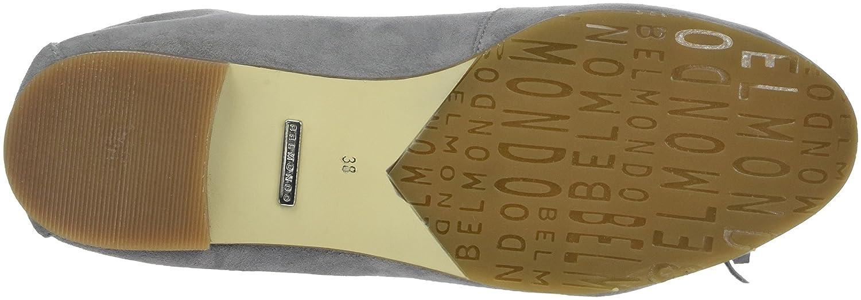 Belmondo Slipper Damen Slipper Belmondo und Mokassins Grau(grigio 02) 8c1f55