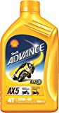 Shell Advance AX5 550031342 20W-40 API SL Mineral Motorbike Engine Oil (900 ml)