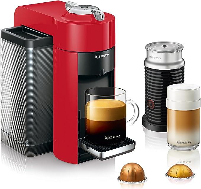 Amazon.com: Nespresso ENV135RAE Paquete de máquina de café y ...