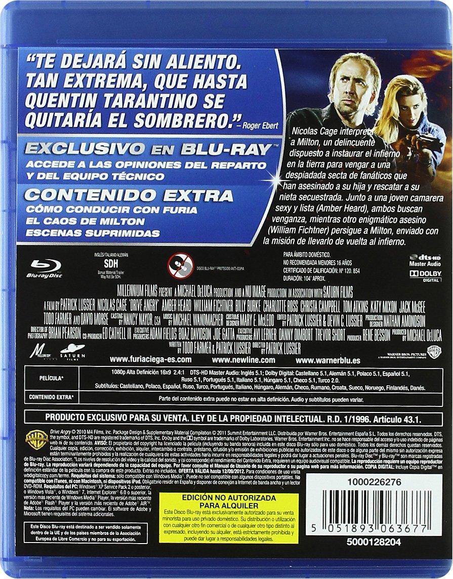 Furia Ciega Blu-Ray [Blu-ray]: Amazon.es: Nicolas Cage ...