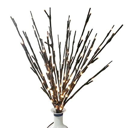 Amazon.com: BABALI Lighted Twig Branches 20 Inches 100 Led Battery ...