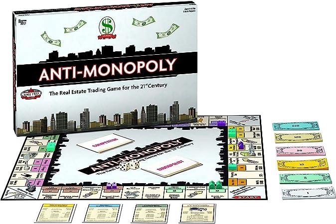University Games 8509 Anti-Monopoly - Juego de Mesa [Importado de Alemania]: Amazon.es: Juguetes y juegos