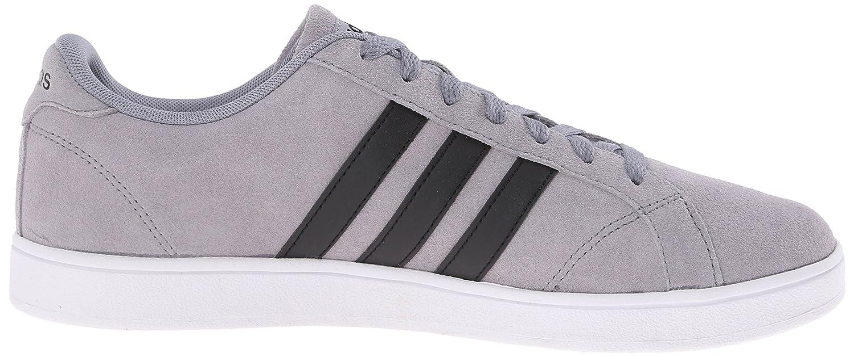 adidas neo - männer ist der schuh, grau / schwarz / weiß, m