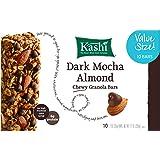 Kashi Chewy Granola Bar, Dark Mocha Almond, 1.2 oz Bars, 10-Count