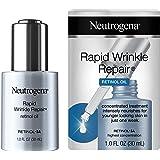 Neutrogena Rapid Wrinkle Repair Anti-Wrinkle Retinol Face Serum Oil, Lightweight Anti-Wrinkle Serum To Remove Dark Spots, Dee