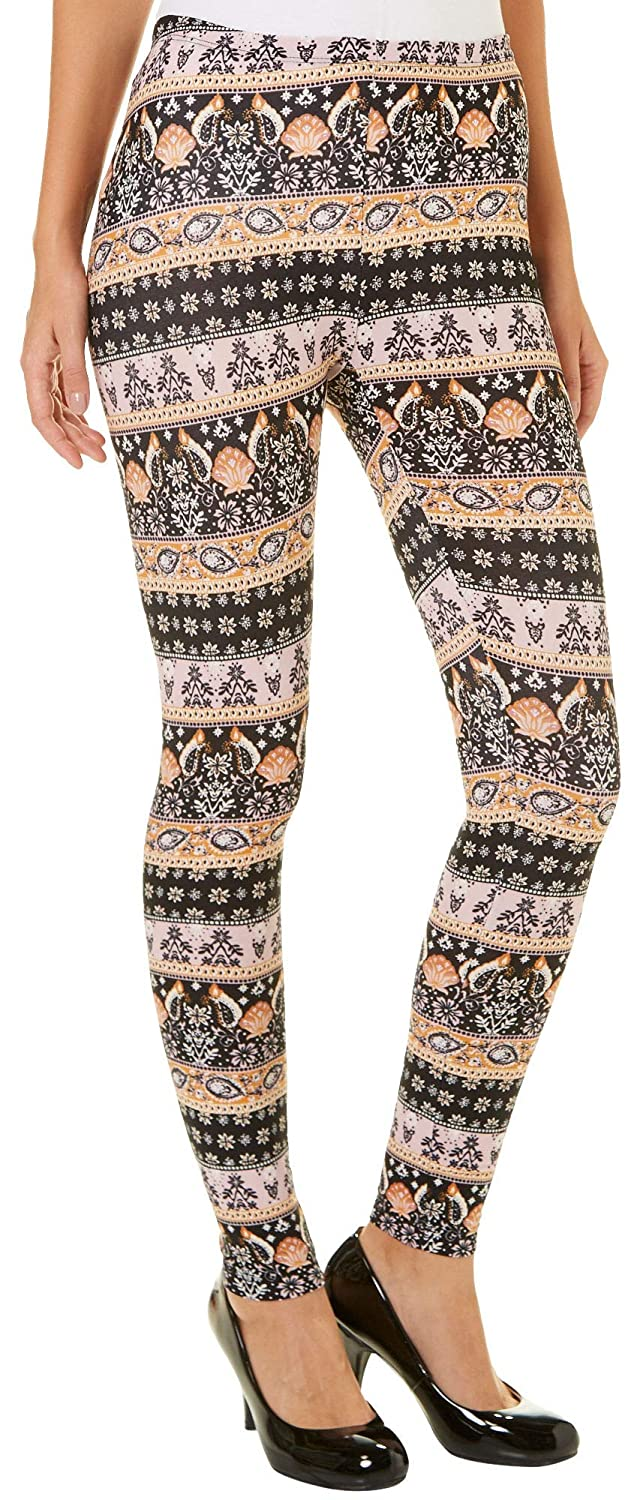 PINK ROSE Juniors Boho Coastal Leggings P000531091