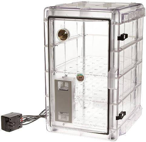 Bel-Art Secador Vertical Profile Clear 4.0 Auto-Desiccator Cabinet ...