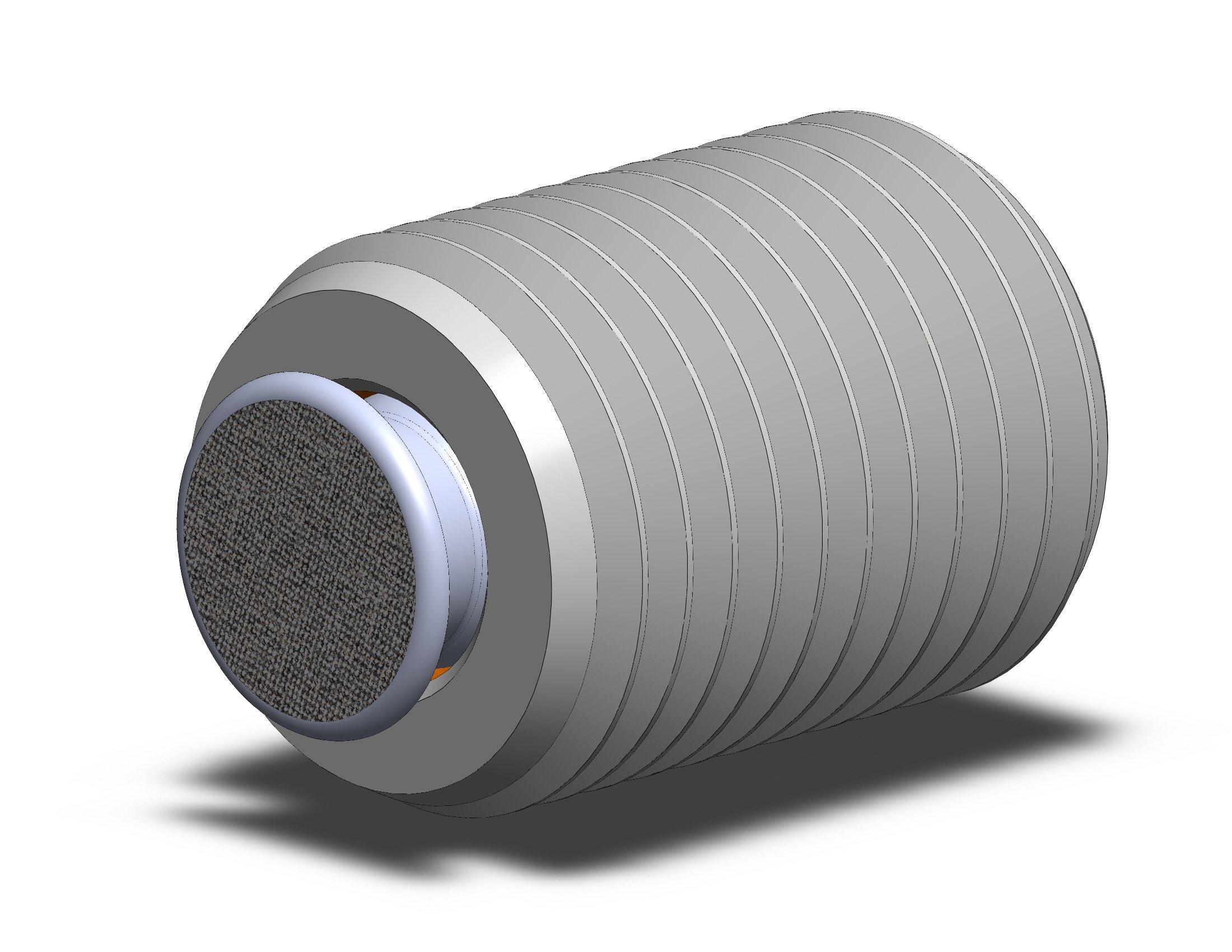 Fairlane TBU-1108-FC-DS Threaded Design Swivot – 1-8 X 1 – Diamond Surface