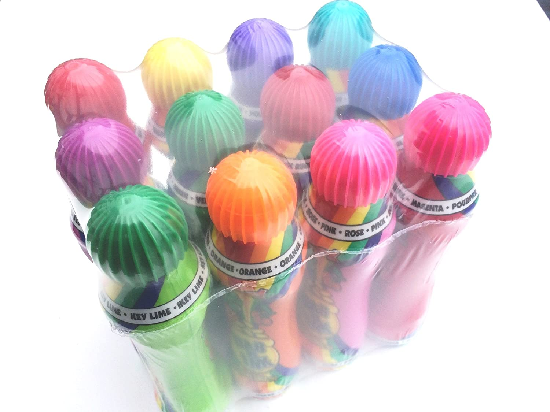 12ct DAB-O-INK 3oz Bingo Daubers Mixed Colors Limited Edition