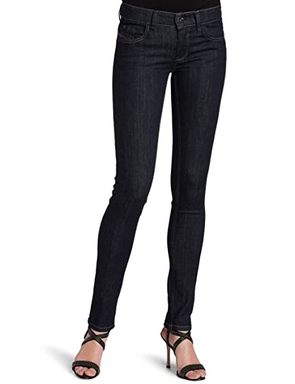 425f6ac3 Diesel Ladies LIVY Super Slim Straight Stretch Jeans 0881K in Size 26x32:  Amazon.co.uk: Clothing