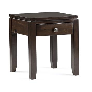 Amazon Com Simpli Home Int Axccos End Cf Cosmopolitan Solid Wood