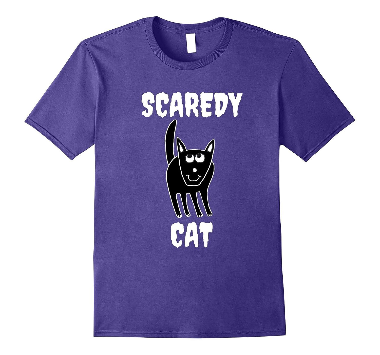 Cat Halloween Shirt – Scaredy Cat Shirt – Halloween Shirt