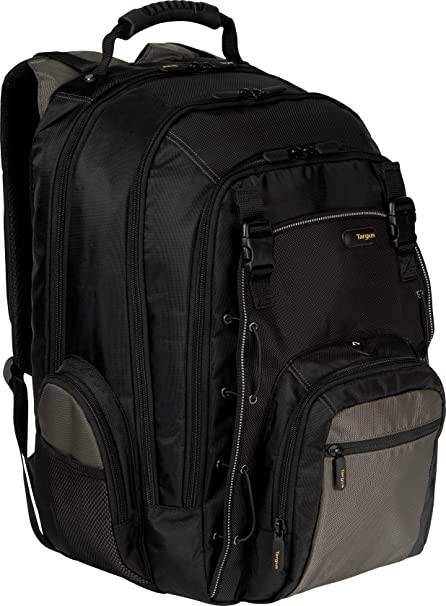 4bb98840e Amazon.com: Targus CityGear Chicago Backpack Case for 16-Inch Notebooks,  Black (TCG650): Computers & Accessories