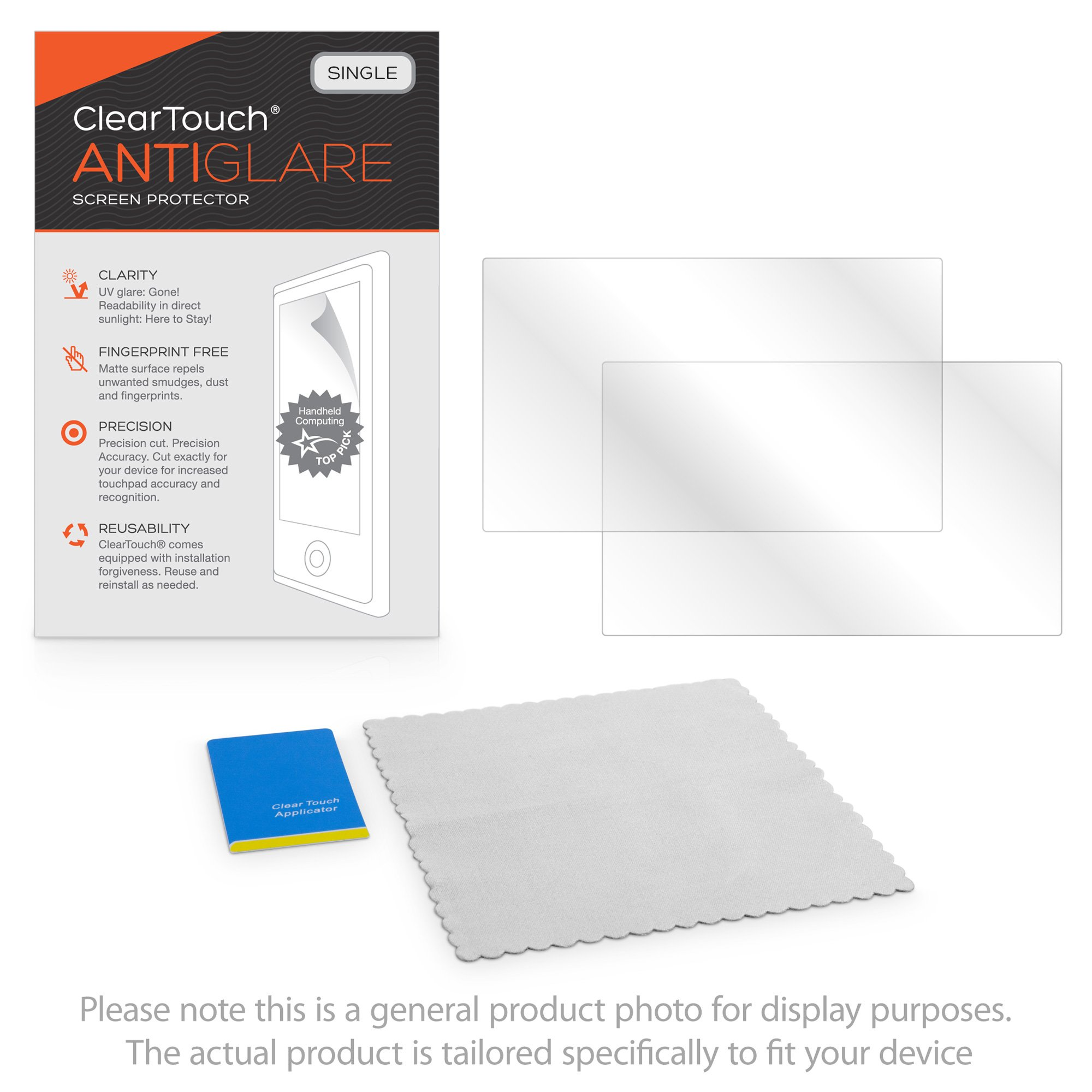 Panasonic Toughbook 18 CF-18 Screen Protector, BoxWave [ClearTouch Anti-Glare] Anti-Fingerprint, Scratch Proof Matte Film Shield for Panasonic Toughbook 18 CF-18, CF-19