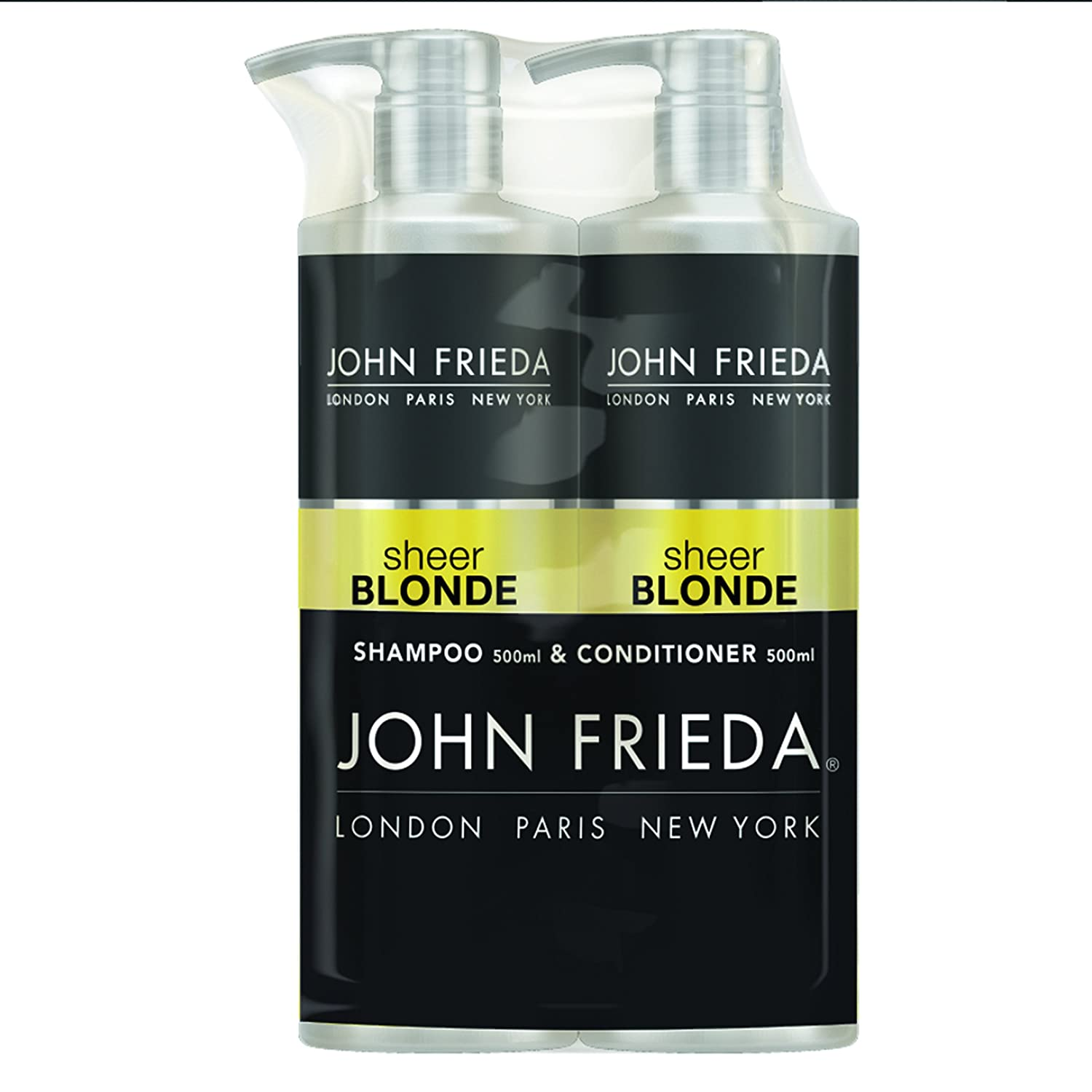 John Frieda Duo Pack Luxurious Volume Touchably Full Shampoo and Conditioner, 2 x 500 ml Kao UK Ltd 2538001