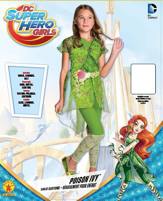 Amazon.com Rubieu0027s Costume Kids DC Superhero Girls Deluxe Poison Ivy Costume Medium Toys u0026 Games  sc 1 st  Amazon.com & Amazon.com: Rubieu0027s Costume Kids DC Superhero Girls Deluxe Poison ...