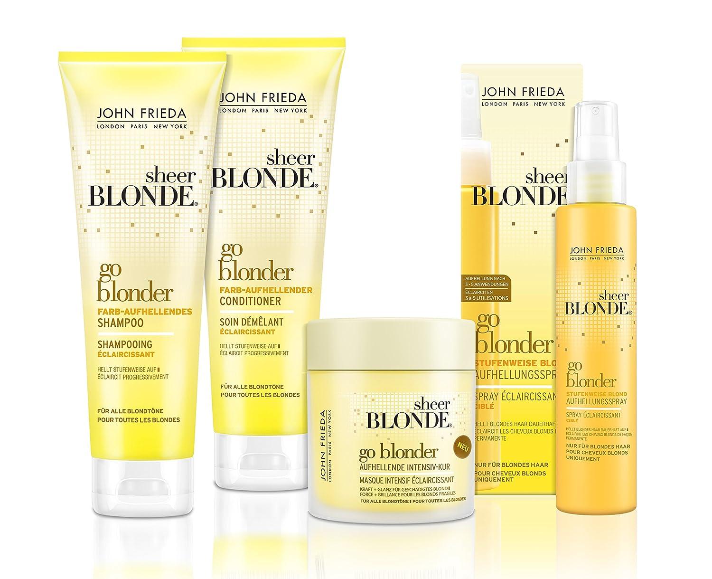 John Frieda Sheer Blonde Go Blonder Farb Aufhellendes Shampoo 1er