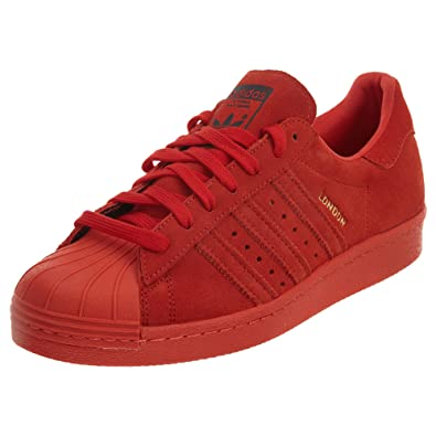 size 40 7fa32 1083a adidas Superstar 80S City Red Mens Style  B32664-Red Red Size  12