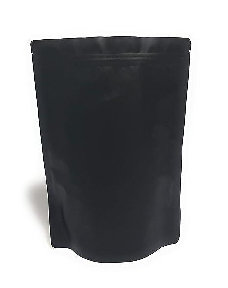 Amazon.com: Bolsas de aluminio con cremallera hermética de ...