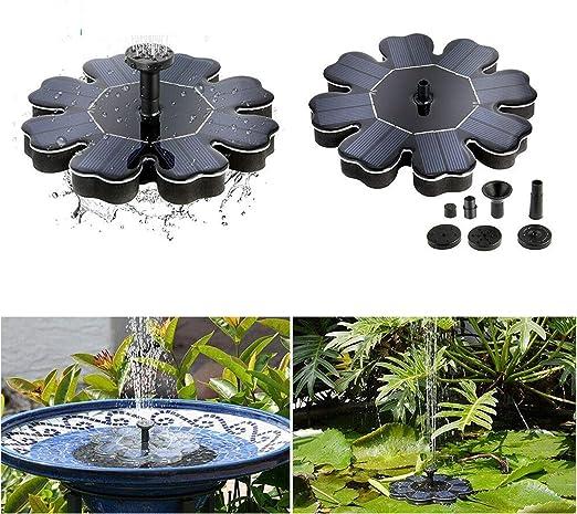 Maso - Bomba de Agua Solar para estanques de jardín: Amazon.es: Jardín