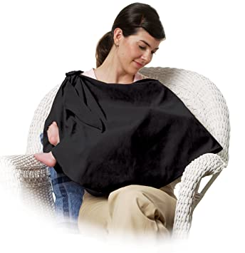 19224005f91 Amazon.com   The First Years - Nursing Privacy Wrap Black (Discontinued by  Manufacturer)   Privacy Nursing Covers   Baby