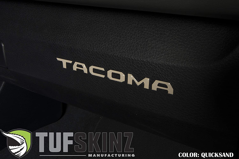 Glove Box Inserts - Fits 2016-up Tacoma TufSkinz Blazing Blue 6 Piece Kit