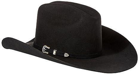 1ba4e46990c0c Stetson Men's 3X Oakridge Wool Cowboy Hat - Swoakr-724007 Black