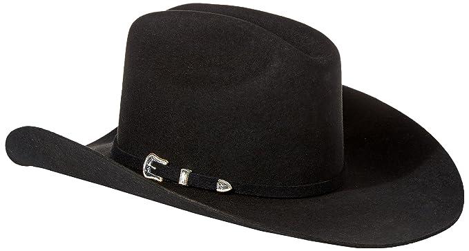 3c4c4a84 Stetson Men's 3X Oakridge Wool Cowboy Hat - Swoakr-724007 Black at Amazon  Men's Clothing store: