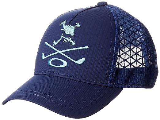 competitive price d8250 dab0b ... official oakley japan skull club mesh adjustable golf cap hat mens  white 2212d da145 ...