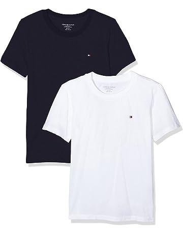f0b98bf70d95 Tommy Hilfiger Boy's T-Shirt (Pack of ...