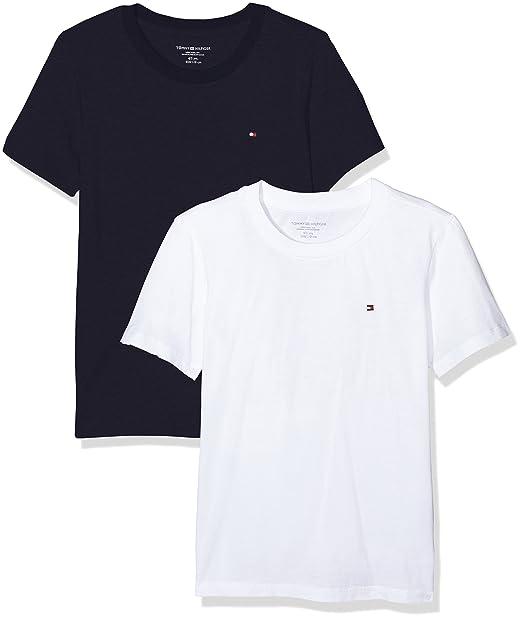 6ff4f430df68 Tommy Hilfiger Cn Tee Ss Icon T-Shirt Bambini e Ragazzi