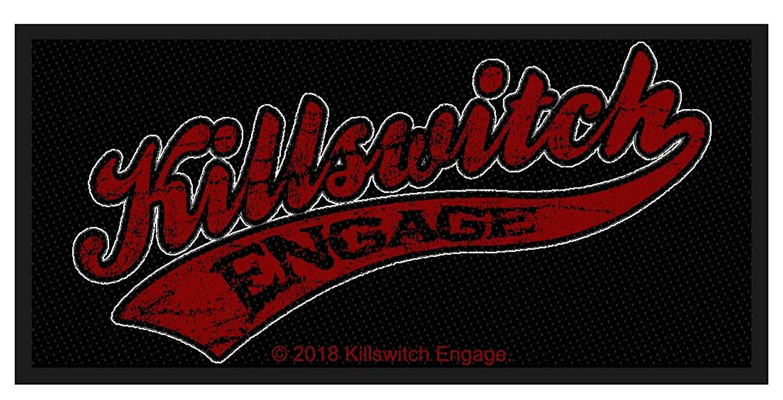Killswitch Engage Baseball Logo Gewebter Aufn/äher