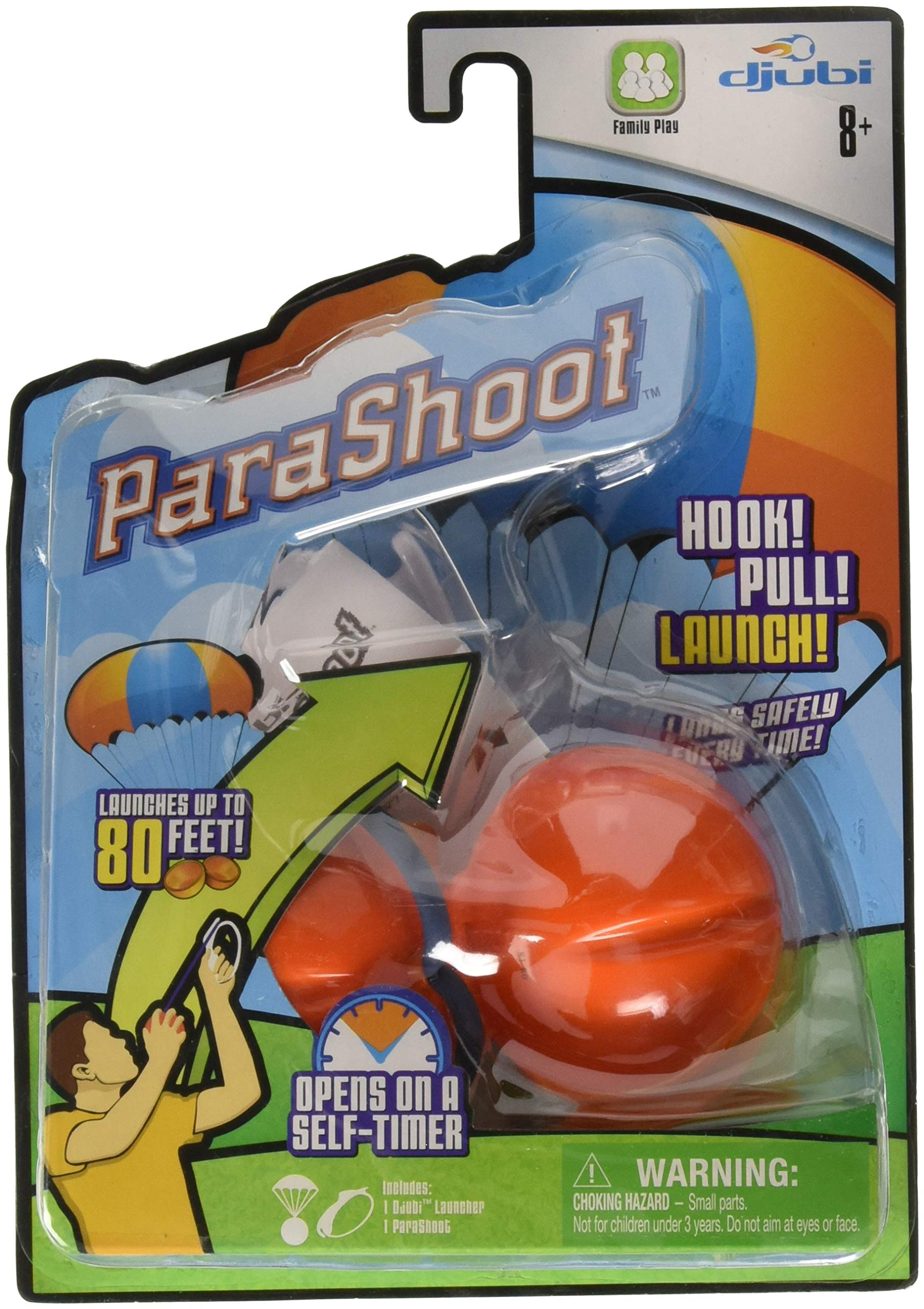 Djubi ParaShoot Outdoor Parachute Ball Set by Moonracer