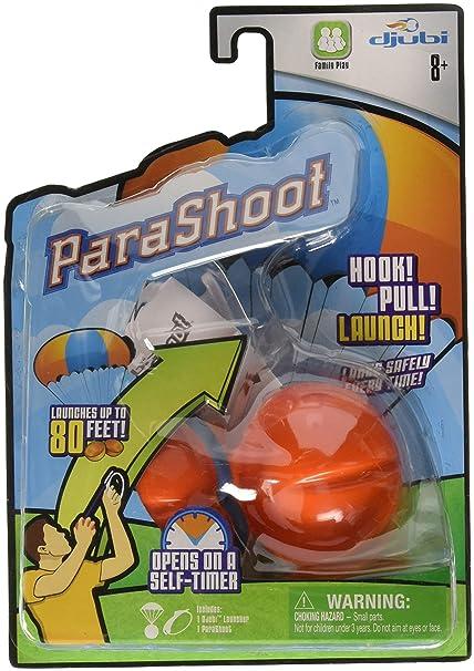 12bd75f84f4 Amazon.com: Djubi ParaShoot Outdoor Parachute Ball Set: Toys & Games